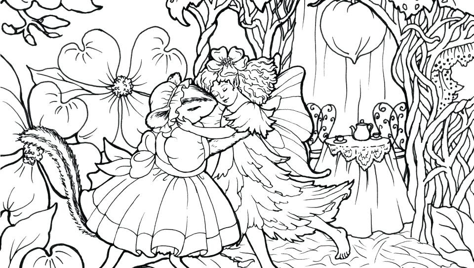 Dark Fairy Coloring Pages at GetColorings.com | Free ...