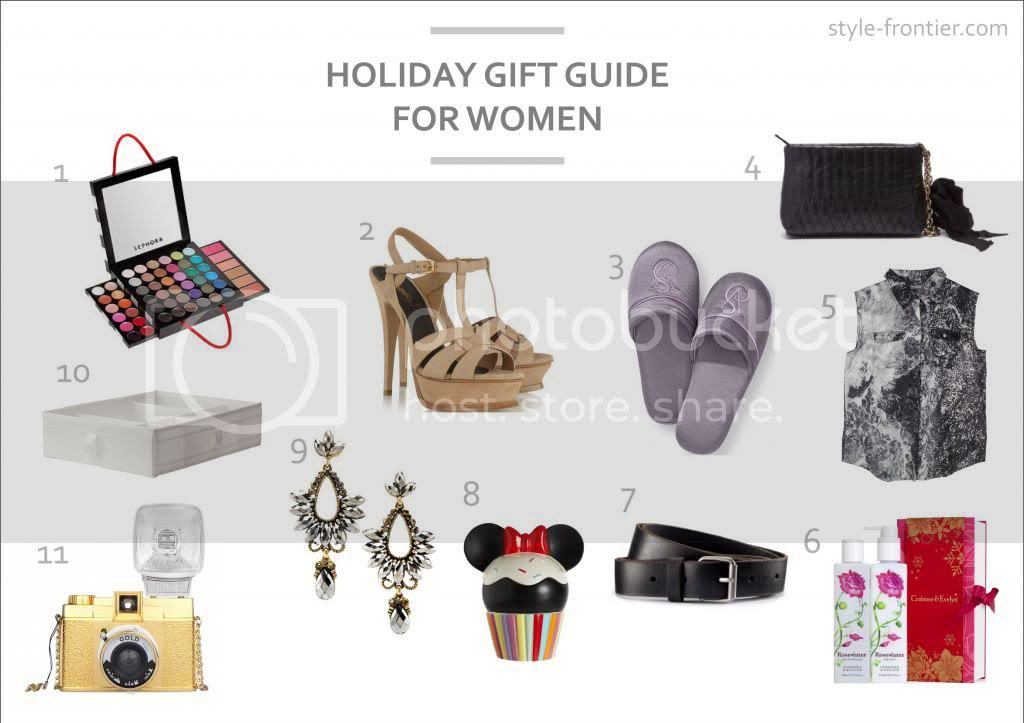 holiday gift guide for women