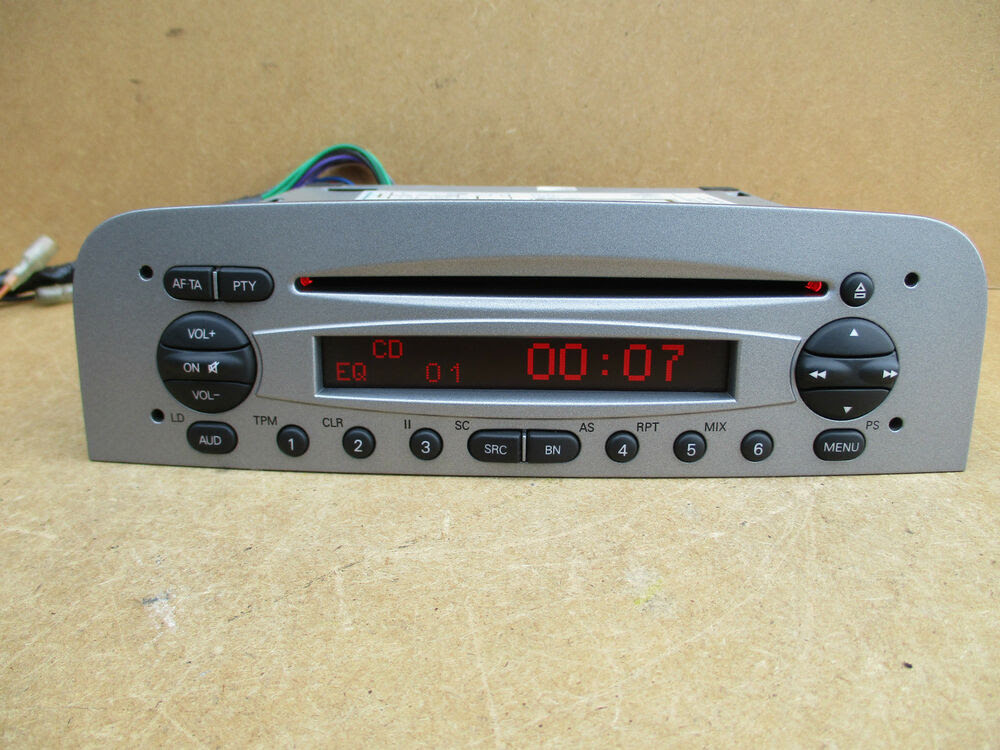Alfa Romeo GT Blaupunk 937 HIGH 147 HIGH Stereo Radio CD Player  CODE  eBay
