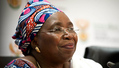 Republic of South Africa Minister of Homes Affairs Nkosazana Dlamini-Zuma. She is being pushed to takeover the African Union Commission Chair in the near future. by Pan-African News Wire File Photos