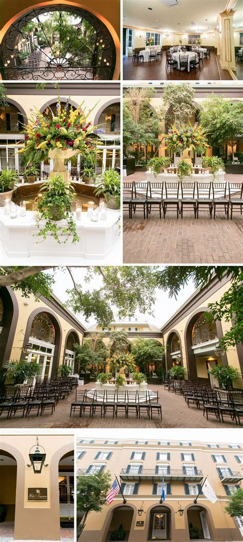 Best Venues for a French Quarter Courtyard Wedding