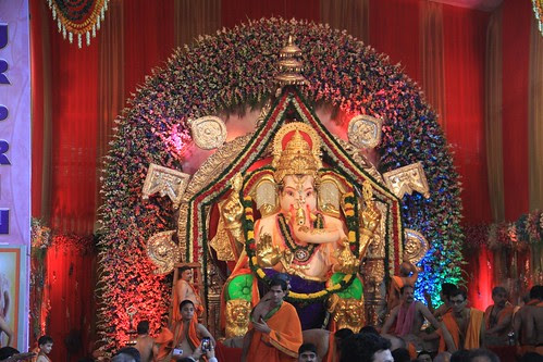 GSB Seva Mandal Lord Ganesha 2013 King Circle by firoze shakir photographerno1
