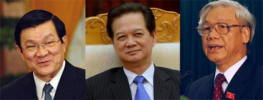 Bộ ba quyền lực trong nền chính trị Việt Nam hiện nay