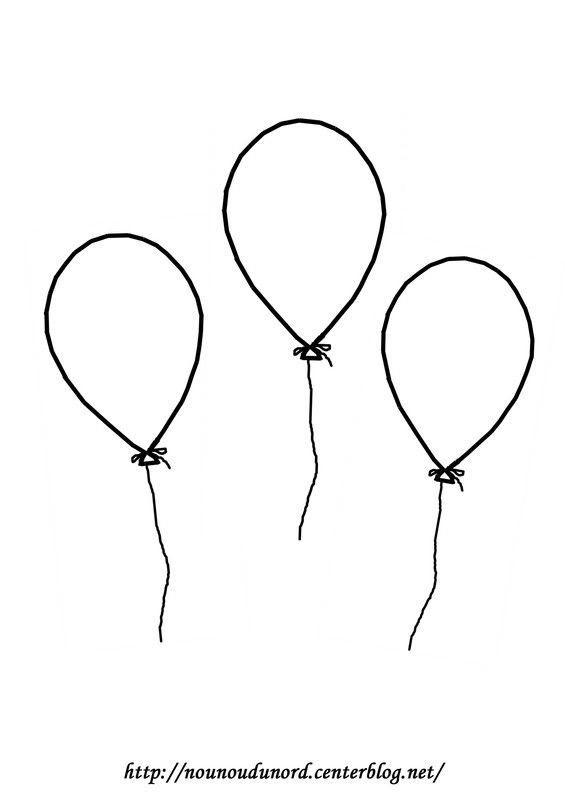 Coloriage Ballon Pdf.De Coloriages Coloriage Ballon