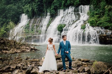 Sarah and Patrick's Intimate Waterfall Ceremony   Intimate