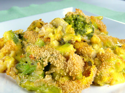 Bianca's Cheezy Broccoli Rice Casserole