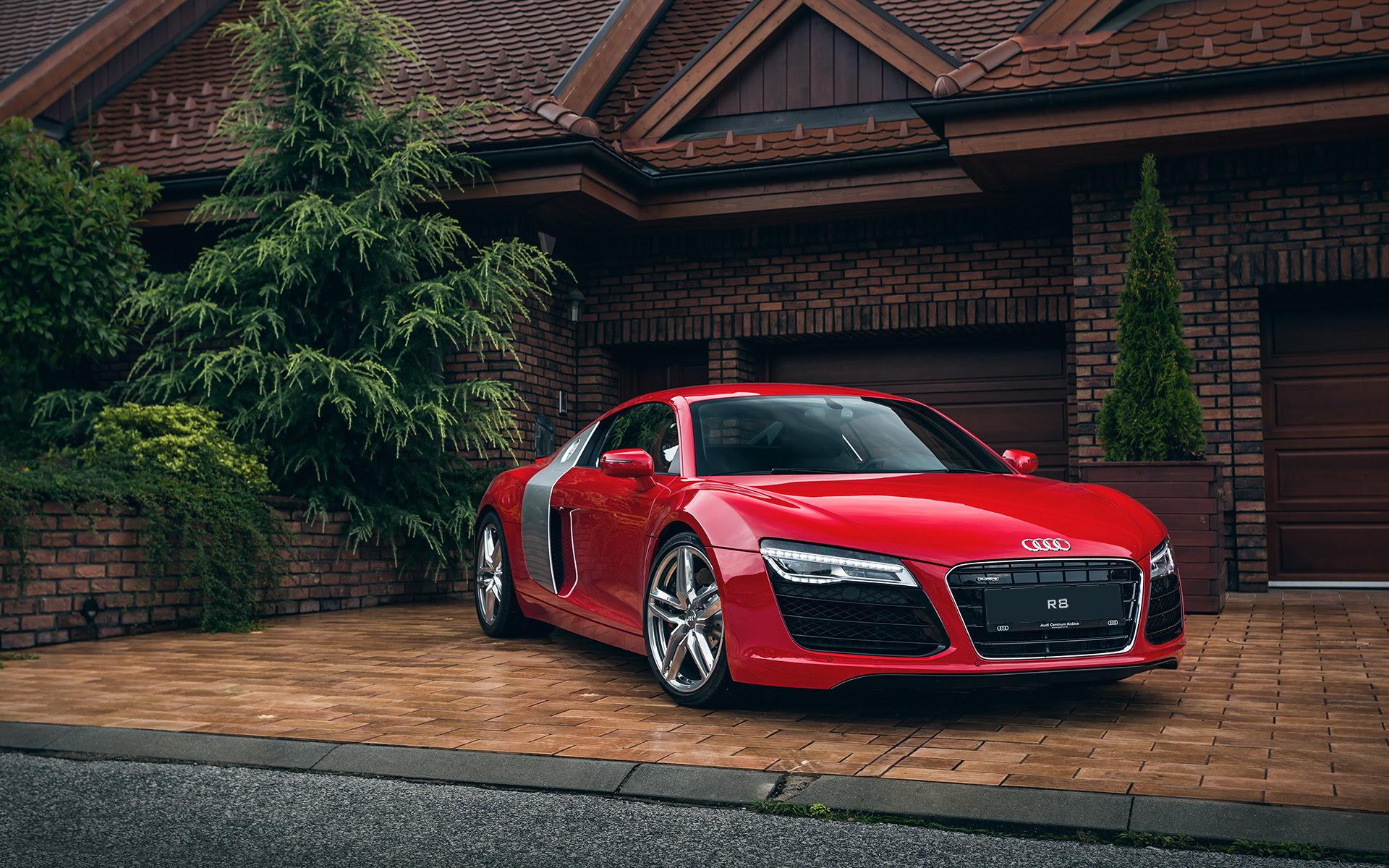 Audi R8 Red Wallpaper   HD Car Wallpapers   ID #5501
