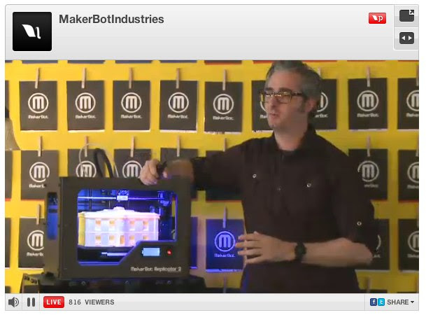 MakerBotIndustries - Makerbot Replicator 2