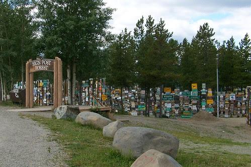 100_0194a-Signpost Forest, Watson Lake