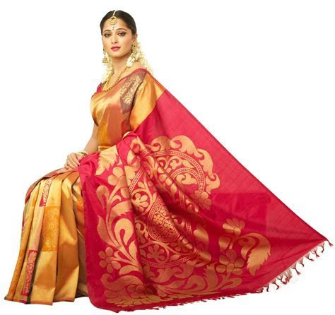 Anushka Shetty Chennai Silk Saree Advertisement (4