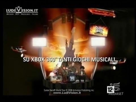 """Xbox 360 """"Tanti Giochi"""" - Guitar Hero World Tour (2008)"""
