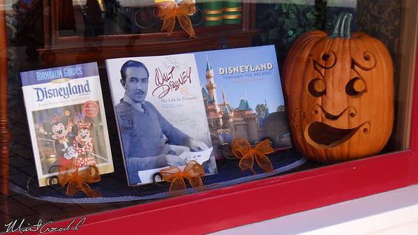 Disneyland, Main Street U.S.A., Pumpkin, Halloween