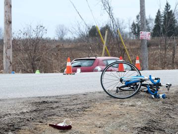 Cyclist accident 2