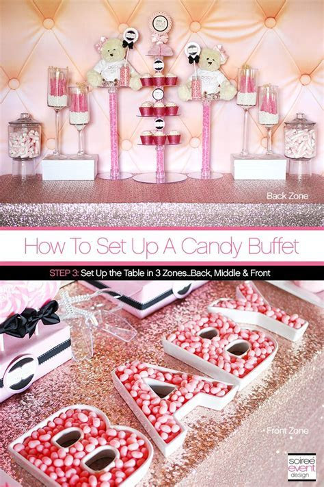70 best images about How to Setup a Candy Buffet in 6