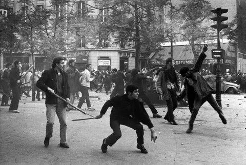 paris riots, 1968