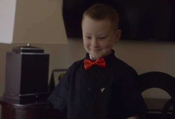 robert downey jr surprises kid with bionic arm