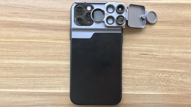 【Freedom 擴充鏡頭手機殼 iPhone 12/11 系列】手機保護再加廣角、微距、瀘鏡、魚眼鏡組合