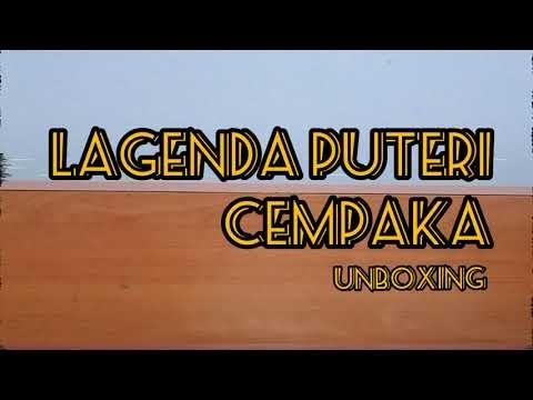 Komik Puteri Cempaka | Unboxing