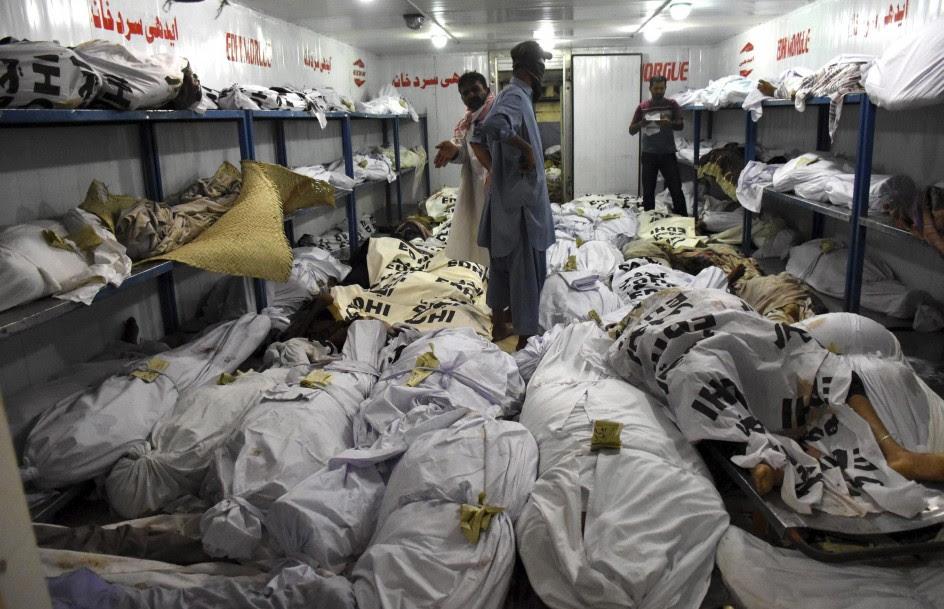 La ola de calor deja 432 muertos en Pakistán