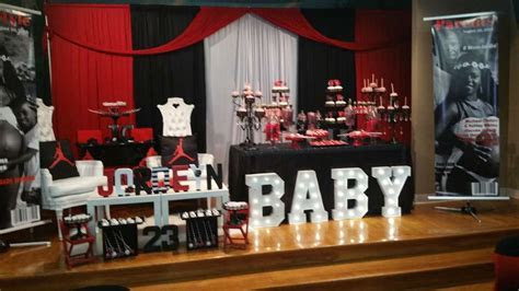 Michael Jordan Baby Shower Party Ideas   Photo 1 of 15