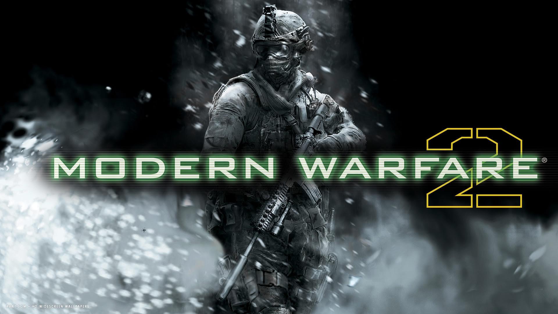 Call Of Duty Modern Warfare 2 Game Hd Widescreen Wallpaper Games
