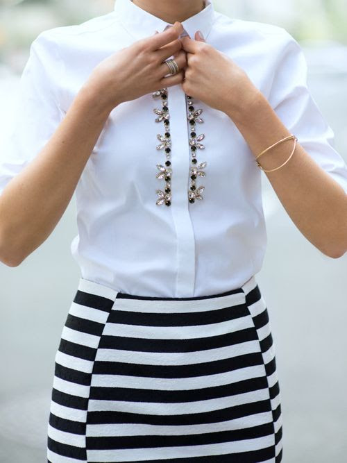 Chic outfit.