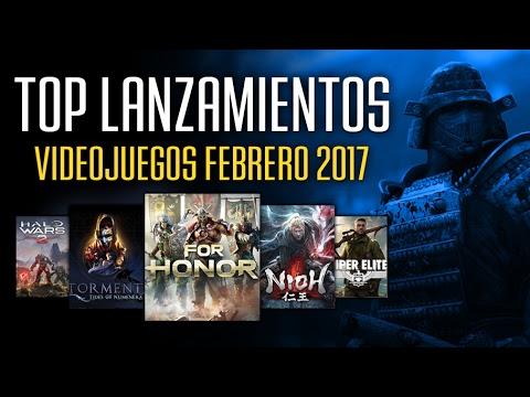 Videojuegos Que Debes Jugar En Febrero 2017