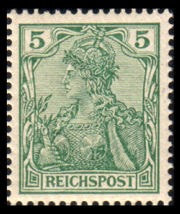 German Rare Postage Stamps Vineta Provisional World