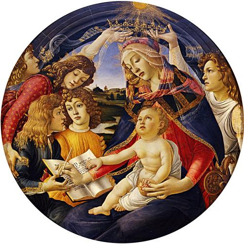 Madonna of the Magnificat - Sandro Botticelli