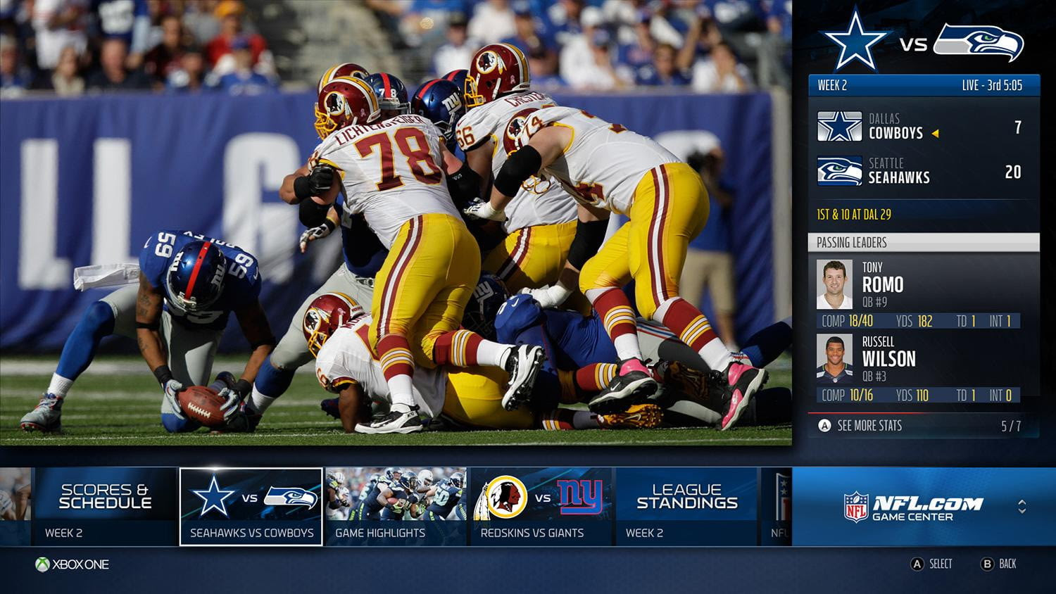 Xbox One rewards cord keepers with live NFL games  Digital Trends