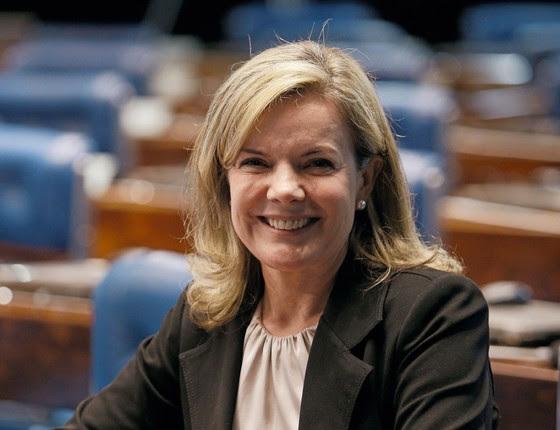 A senadora Gleise Hoffmann (Foto:  DIDA SAMPAIO/ESTADÃO CONTEÚDO)