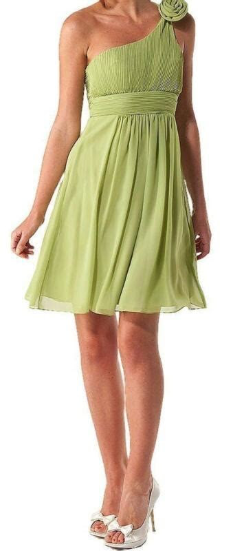 lime green bridesmaid dresses ebay