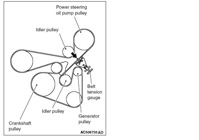 34 2009 Mitsubishi Lancer Serpentine Belt Diagram
