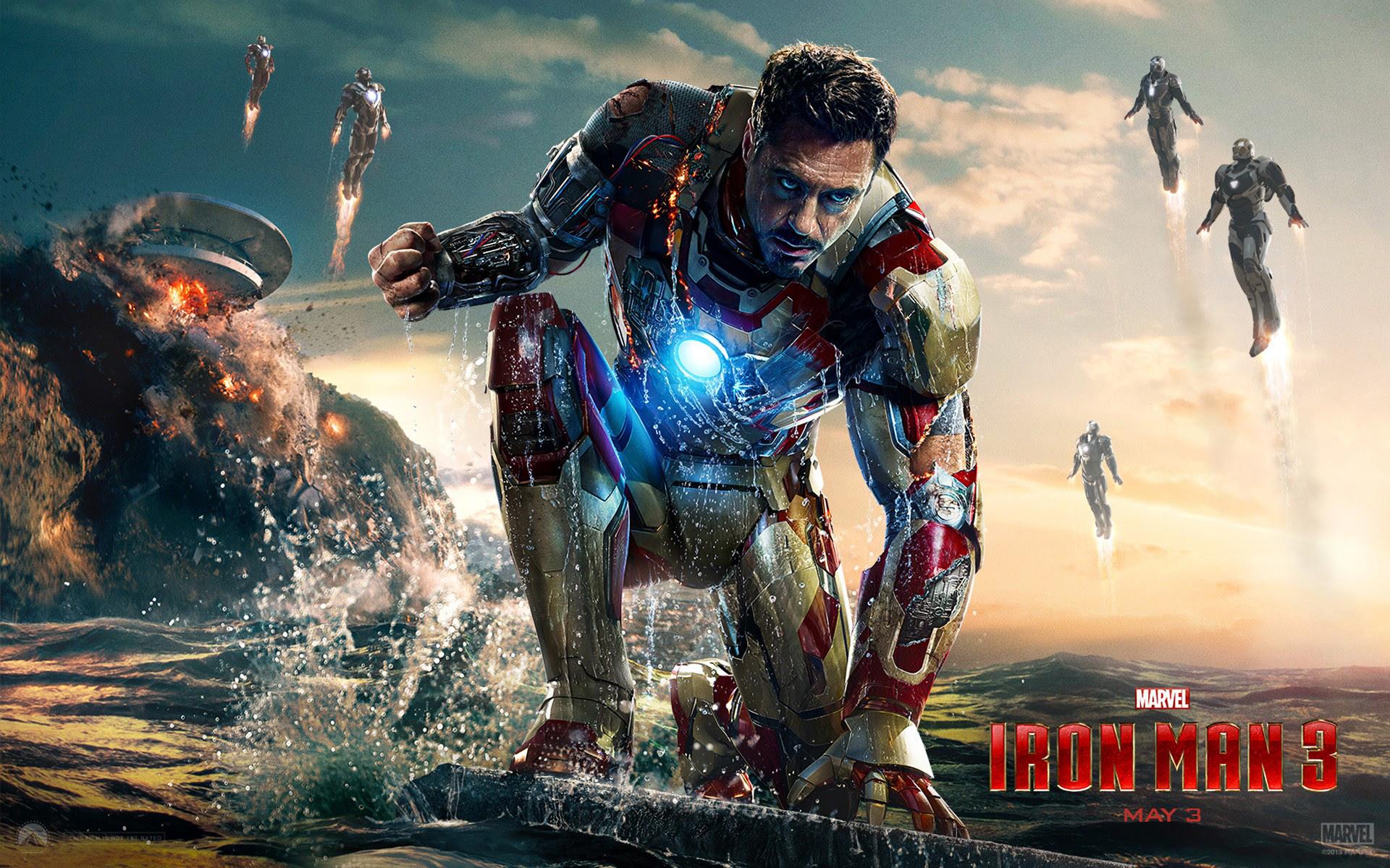 Major mistakes in Movie 'Iron Man 3' © Aditya Prakash