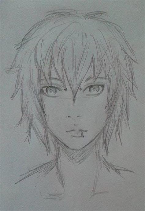 anime boy drawings  pencil drawings art gallery
