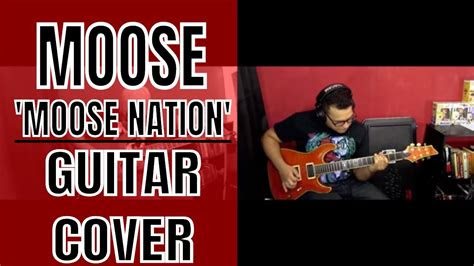 moose theme song guitar cover youtube