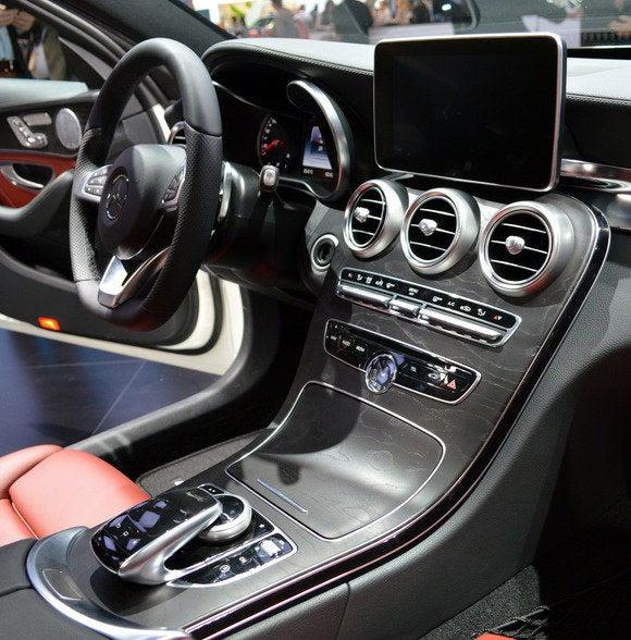Classe 2015 Mercedes benz c NAIAS interior1 Detroit Auto Show jan 2014