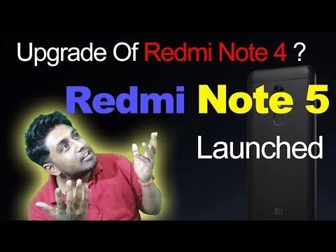 Xiaomi Redmi Note 5 Launched In India