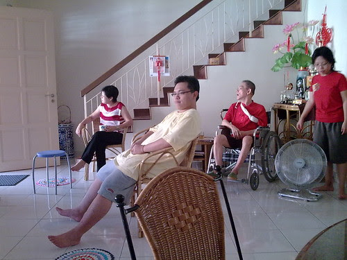 First day of Chinese New Year, family gathering at uncle's house 1