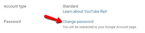 retrieve password when already logged in - Google Search Help