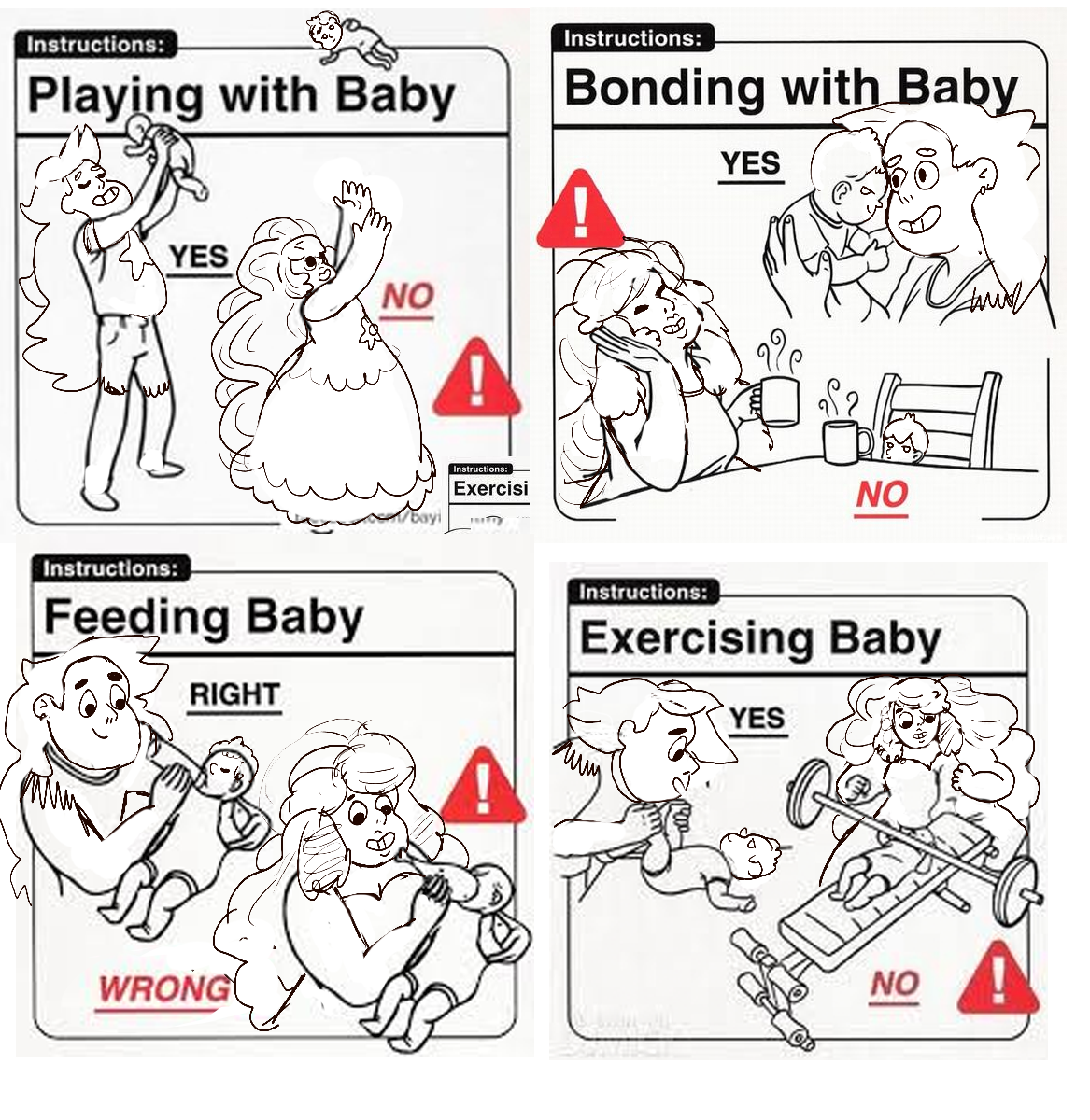 caring for a baby 101