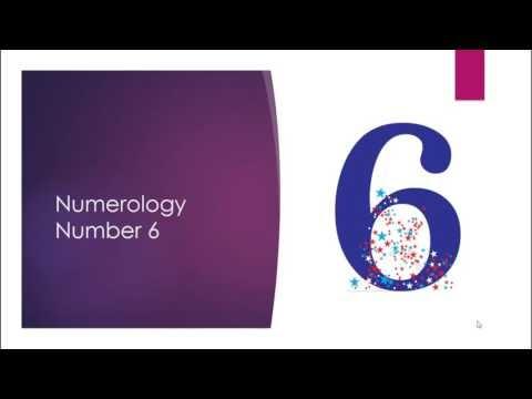 Numerology in Hindi -Numerology number 6 - Abhishek Bhatnagar