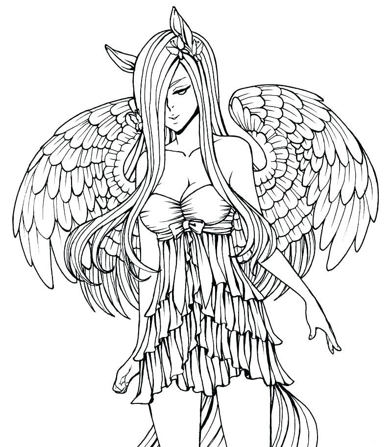 Advanced Fairy Coloring Pages at GetDrawings | Free download