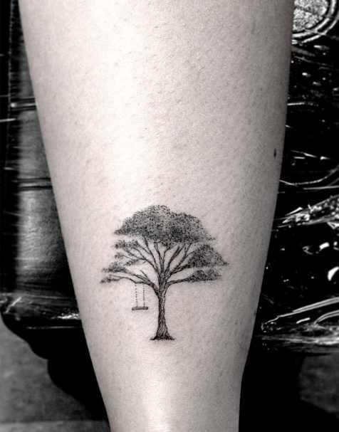 Black Tree Tattoo By Dr Woo Design Of Tattoosdesign Of Tattoos