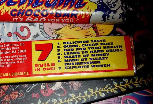 Devil Girl candy bars