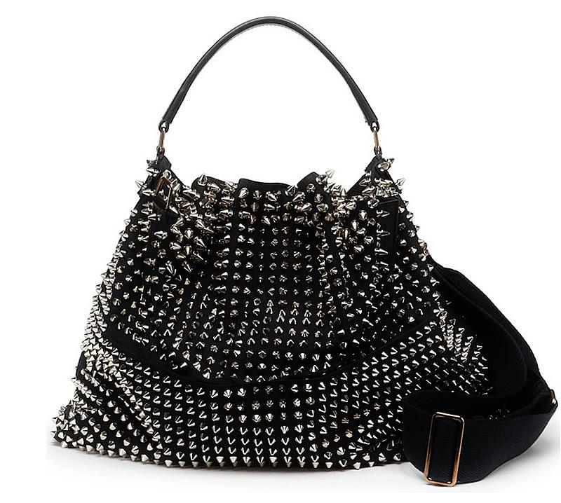 Burberry studded bag