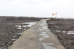 The Path to the Ganesha Temple in the Sea - Carter Road by firoze shakir photographerno1