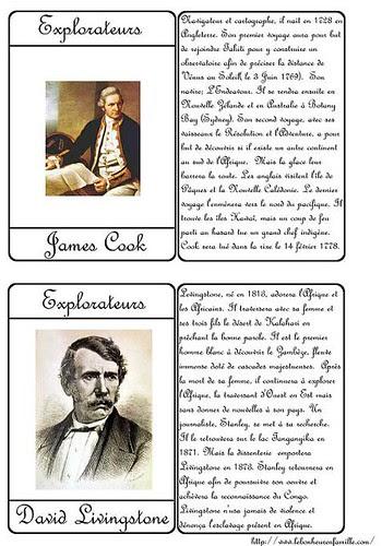 cartes explorateurs 1 AAAAAAAAAAAAAAA