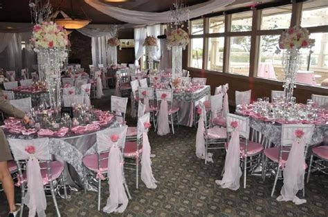 wedding, beach, pink, silver, romantic, elegant