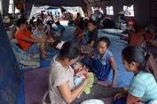 Angkutan Gratis dan 'Brother School' untuk Anak Pengungsi Gunung Agung